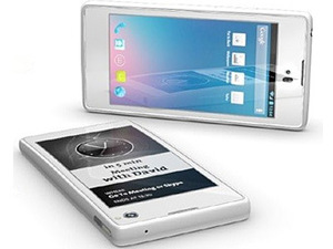 YotaPhone – смартфон с 2 дисплеями