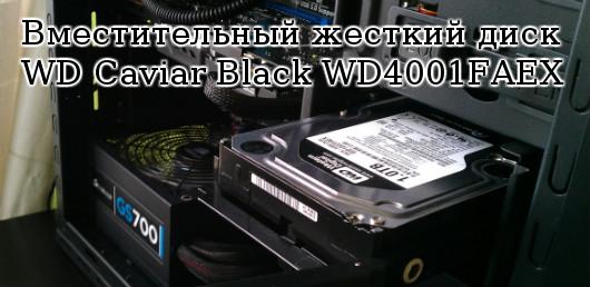 жесткий диск WD Caviar Black