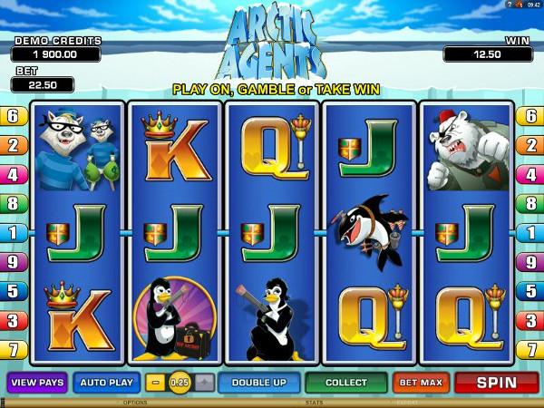 Игровой автомат Arctic Agents - богатства арктики для искателей приключений
