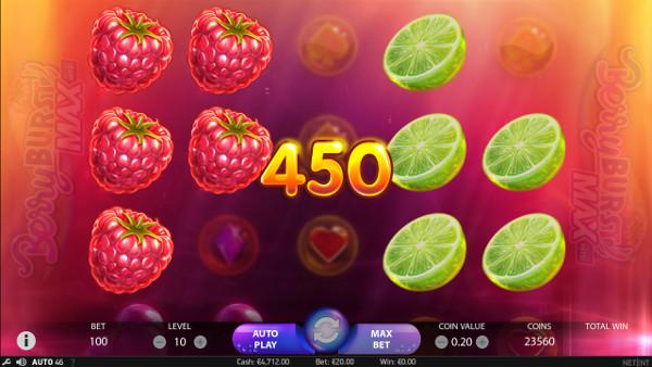 Игровой автомат Berryburst Max - в казино Pharaon высокие шансы на выигрыши