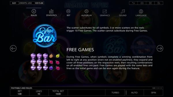 Игровой автомат Diamond Vapor - в Адмирал X казино регулярно выиграй