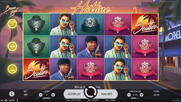 Игровой автомат Hotline - играть в слоты на сайте Вулкан Россия казино онлайн