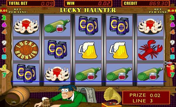 Игровой автомат Lucky Haunter - большие выигрыши гарантированы