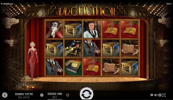 Игровой автомат Prohibition - играть в казино Чемпион лицензионное