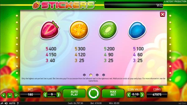 Игровой автомат Stickers - в казино Вулкан Вегас сорви куш