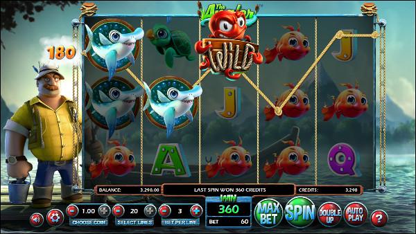 Игровой автомат The Angler - получай выгодные бонусы для игры в Азино 777