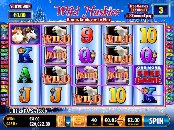 Игровой автомат Wild Huskies - регулярные выигрыши и щедрые призы