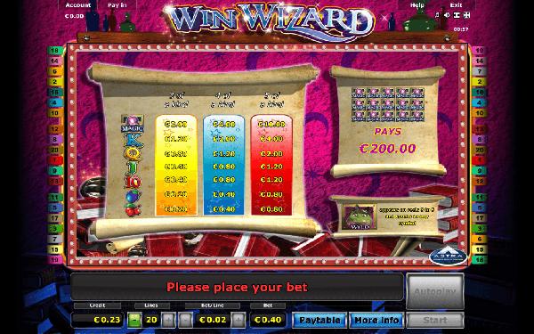 Игровой автомат Win Wizard - магия успеха дарит игрокам огромные выигрыши