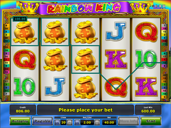 Игровой слот Rainbow King - нужно только скачать Вулкан игровые автоматы и выигрывать