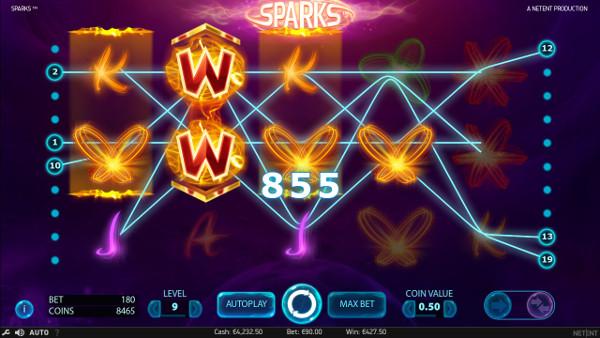 Игровой слот Sparks - побеждайте регулярно в автоматы Вулкан Вегас казино