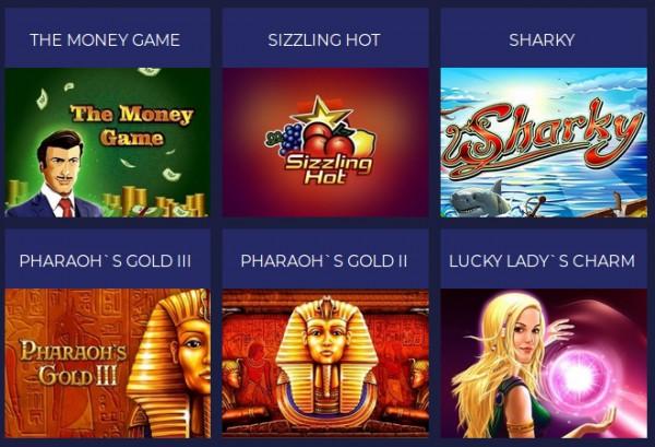Игровые онлайн автоматы