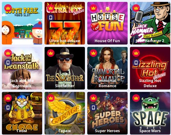 Интрукция по игре в любимые игры в игровом клубе Slotsdoc