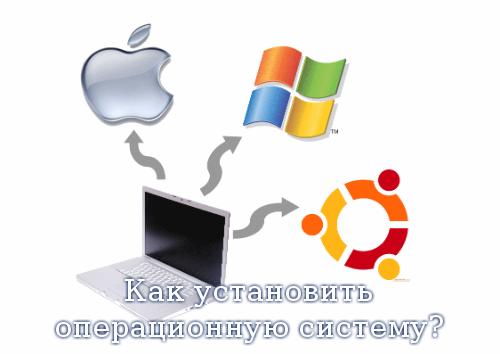 Как установить операционную систему?