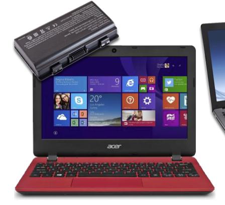 АКБ для ноутбуков