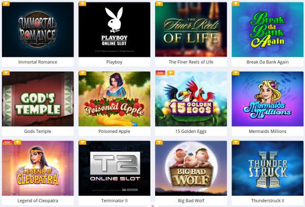 Вас ждут онлайн игровые слоты в онлайн казино Супер Slots
