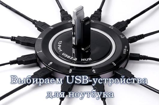 USB-устройства для ноутбука